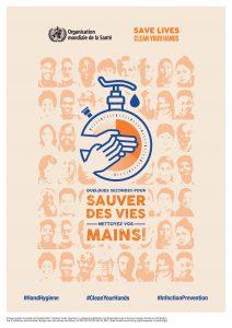 Campagne 5 Mai 2021 : Journée mondiale de l'hygiène des mains - Hygiène des mains